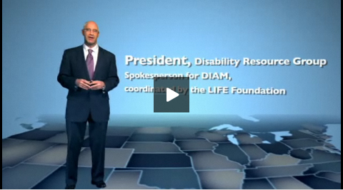 *Video:life foundation 2010 spokesman john f. nichols
